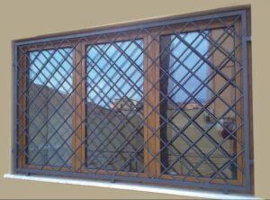 Inferriate per finestre Roma